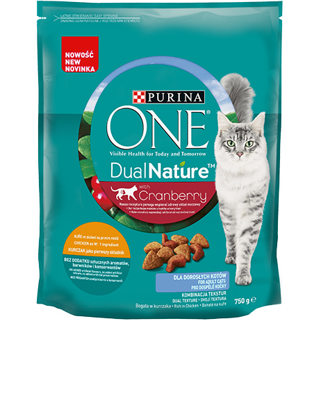 PURINA ONE Dual Nature Adult superfoodi ja kanaga